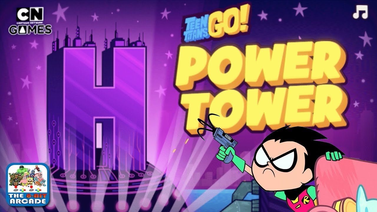 Teen Titans Go: Power Tower – Scale the Tower with just your Grappling Hook (Cartoon Network Games)