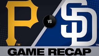 Moran's HR, 4 RBIs lead Pirates - 5/19/19