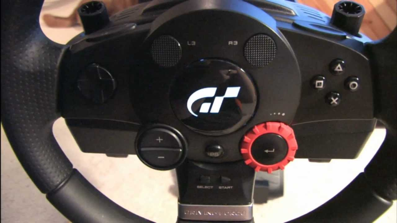 Classic Game Room Logitech Driving Force Gt Racing Wheel Review Youtube
