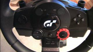 Classic Game Room - Logitech Driving Force Gt Racing Wheel Review