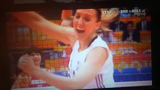 2018 Volleyball Women's World Championship- Japan vs USA set3 part 2