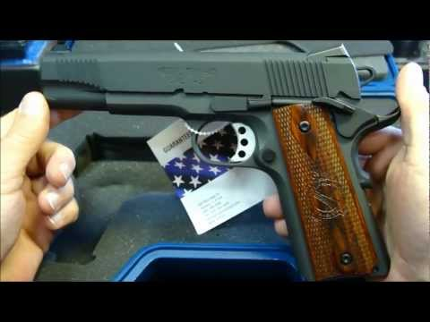 Springfield Armory 1911-A1 Loaded-Parkerized Unboxing +