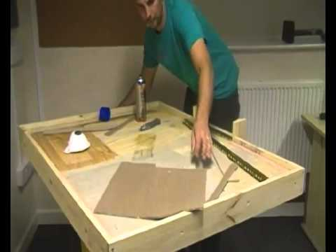 How to cut and join carpet