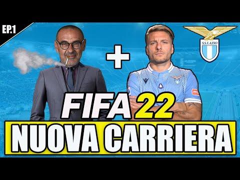 FIFA 22: CARRIERA ALLENATORE LAZIO VERSIONE SARRI! LA NUOVA LAZIO SU FIFA 22! ACQUISTI E CESSIONI #1