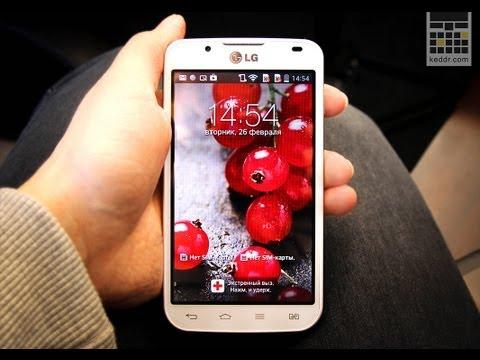 Обзор LG Optimus L7 2 Dual