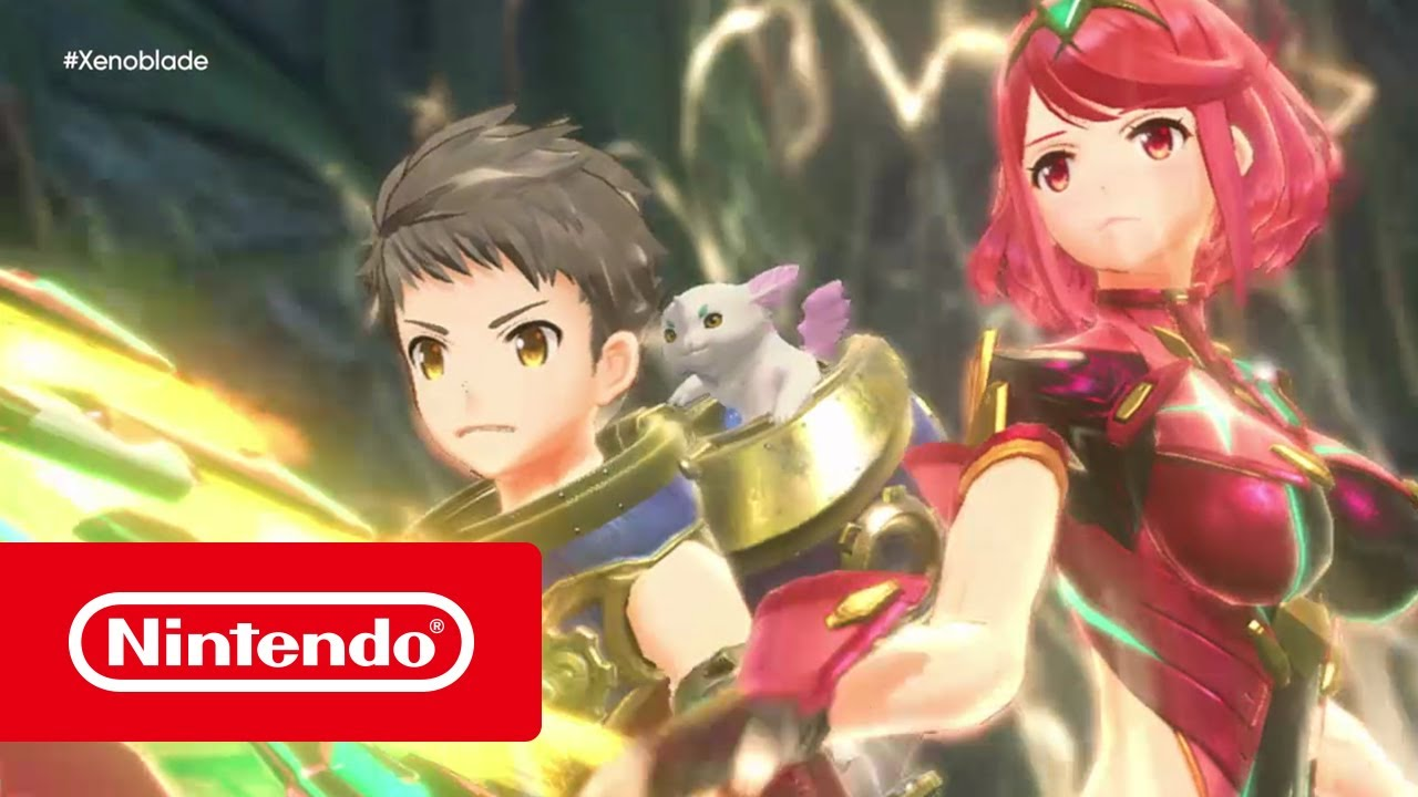 Xenoblade Chronicles 2 is Endless Epic, Annoying Anime
