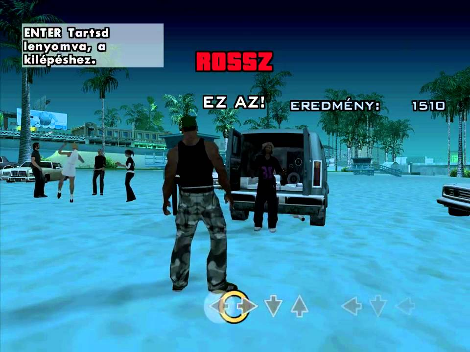 gta san andreas dance mission