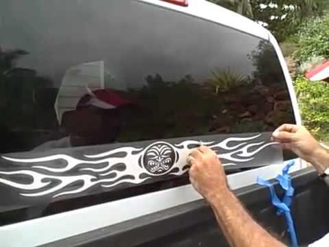 важно, как наклеить наклейку на стекло термобелье успешно