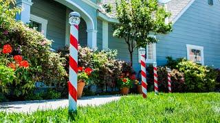 DIY Candy Cane Solar Light- Home & Family