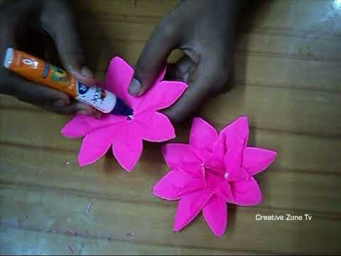 How To Make Paper Lotus Flower