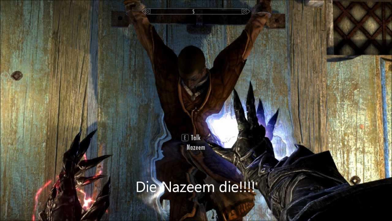 Skyrim Mod Showcase Nazeem The Slave Youtube