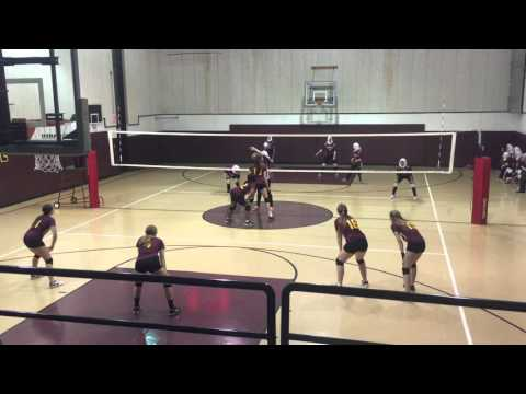 Chicago Waldorf School 2015 Volleyball League Tournament Final vs Universal Oct 21, 2015 01