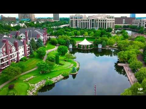 Centennial Lakes Edina Minnesota DJI