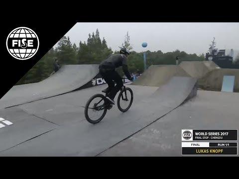 FISE CHENGDU 2017: Mountain Bike Slopestyle Pro Final [REPLAY]