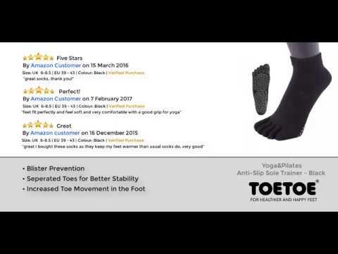 TOETOE - Yoga&Pilates - Anti Slip Trainer