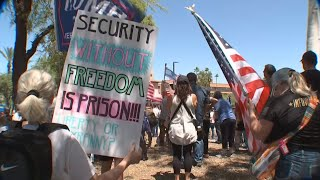 Protesters demand Gov Ducey reopen Arizona businesses