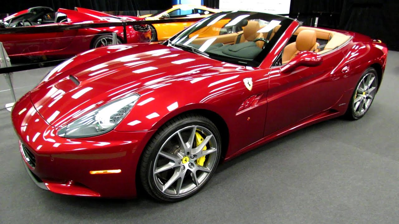 2013 ferrari california exterior and interior walkaround for Salon de l auto 2018