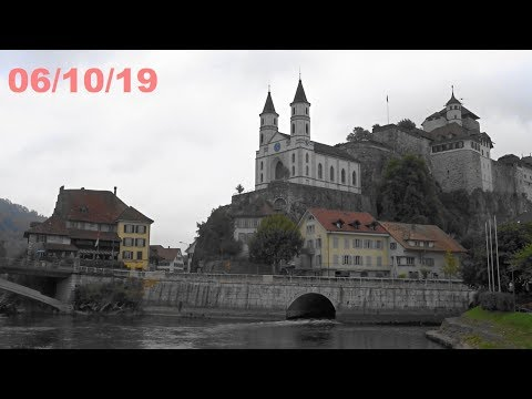 SWITZERLAND - Suiza - Baden - Aarburg - Bern Berna - 3 Places 3 Lugares