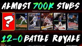BEST 12-0 REWARD EVER! *WORTH MORE THAN MIKE TROUT* MLB The Show 17 Battle Royale