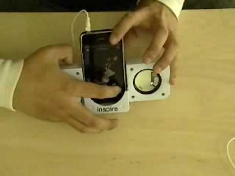 Review Of Inspiretech's Universal  Foldup Speakers For IPhone, IPod, Zune, Sansa