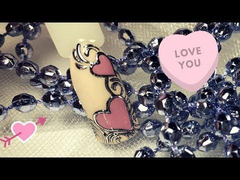 Nail Tutorial:Valentine's Day Heart ♥️, Nail Art Ideas| Дизайн ногтей ко дню Святого Валентина