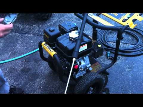 DEWALT DPW3835 3800 PSI Pressure Washer - Review