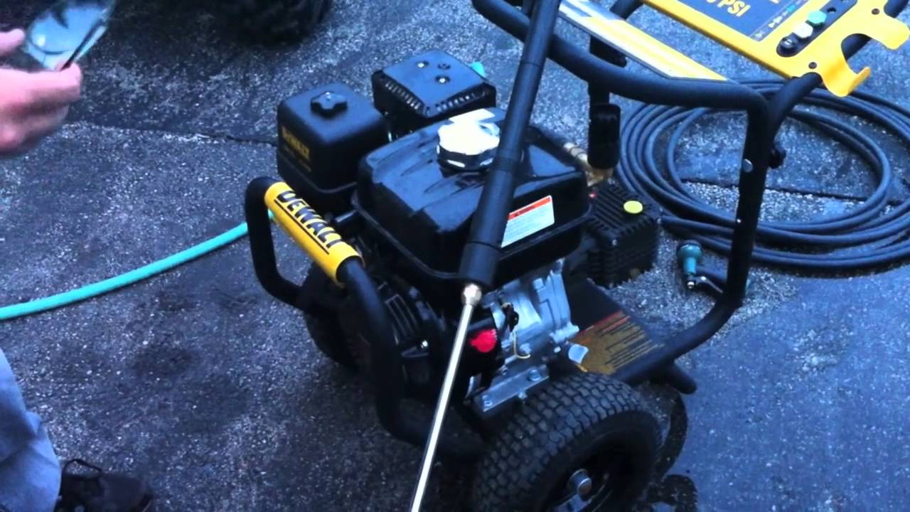 Dewalt Dpw3835 3800 Psi Pressure Washer Review Youtube