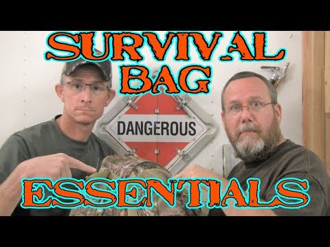 Survival Bag Essentials!