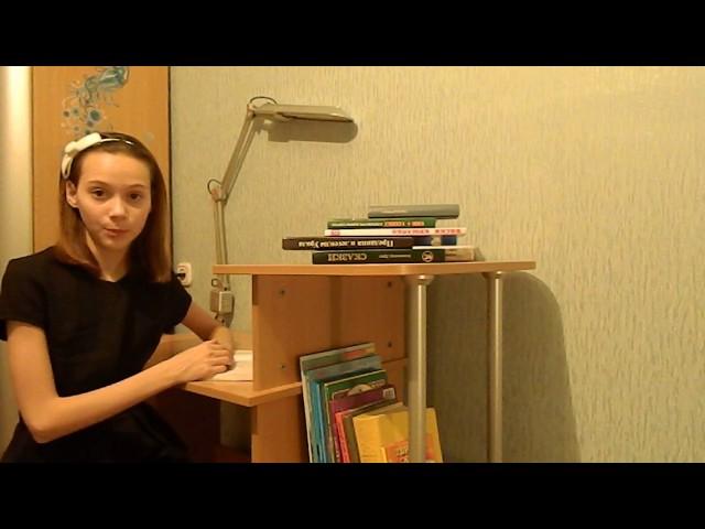 Изображение предпросмотра прочтения – ЮляКацан читает отрывок изпроизведения «Бородино» М.Ю.Лермонтова