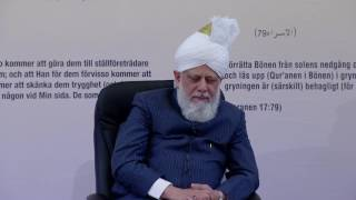 Lajna and Nasirat Class Sweden - 13th May 2016