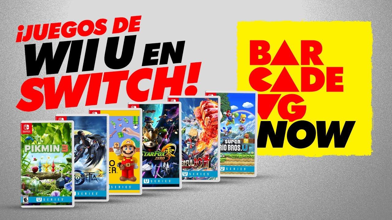 Juegos De Wii U Ahora En Tu Switch Youtube