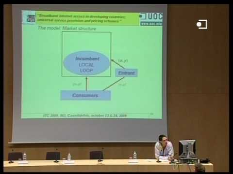 Underlying theories of broadband internet access in developing countries - Carlos Gutiérrez