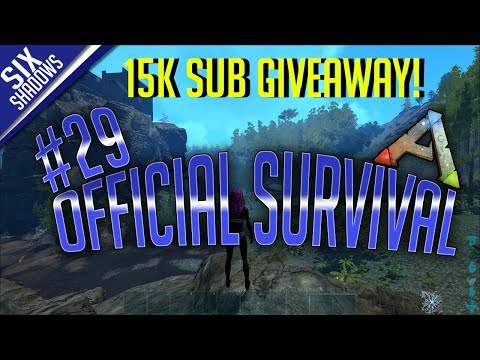 15K SUB GIVEAWAY! UNLUCKY ARK DAY..- Official PvP - New Servers | Episode 29 - Ark: Survival Evolved