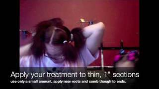 My Brazilian Keratin Treatment Application