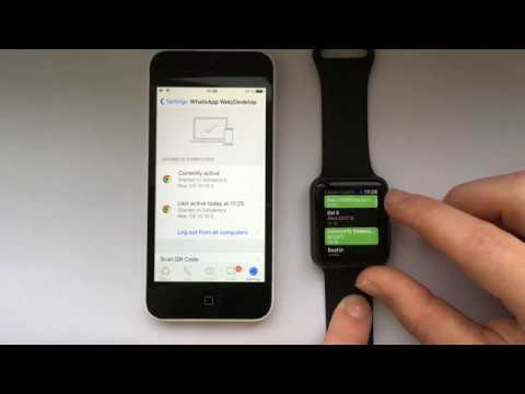 how to get whatsapp on apple watch