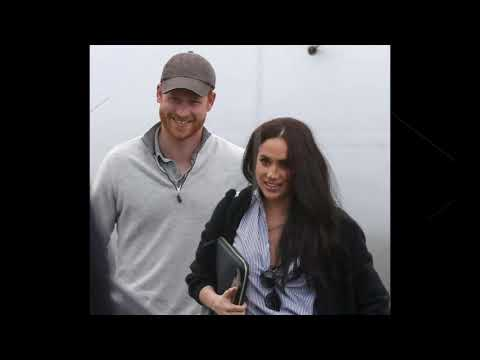 Nouvelles photos du Prince Harry et Meghan au canada Ils ont l&39;air si heureux
