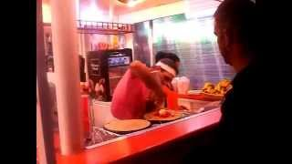 Crepe Man Alcudia (Crêpes) Crazy Pancake Man (Julio) Alcudia Majorca Mallorca (Spain) Pancakes