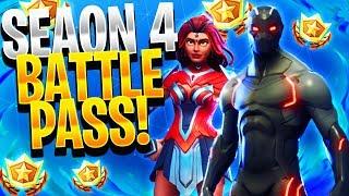 BUYING THE BEST SUPERHERO SKIN IN FORTNITE! - Season 4 Battle Pass