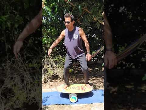 """אינדו בורד - """" מכשיר הכושר מדמה הגלישה"""" האולטימטיבי! פרק 2: """" Indo squat"""""""