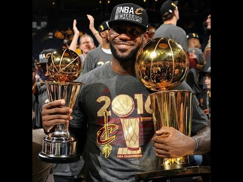 Cleveland Cavaliers Defeats Golden State Warriors in 2016 NBA Finals. Lebron wins 3rd Ring.