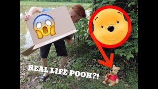 CAPTURING REAL LIFE WINNIE THE POOH! *From Christopher Robin*