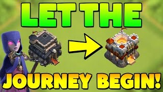 Clash Of Clans - Road To Max Town Hall! #1