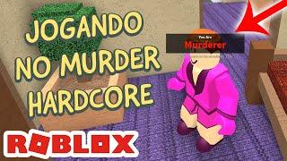 DISFARÇADOS NO HARDCORE - MURDER MYSTERY no ROBLOX