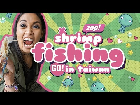 Food Finds: Taipei's Indoor Shrimp Fishing image