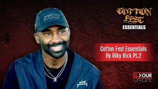 Riky Rick Shares His Cotton Fest Essentials [Part 2]