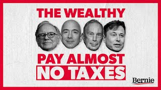 The wealthiest Americans pay almost NO INCOME TAXES.
