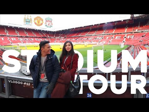 TRAVEL-VLOGGG #62: OLD TRAFFORD, ETIHAD, ANFIELD - Stadium Tour