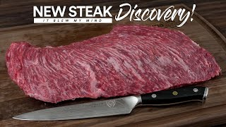 I Discovered an Amazing NEW STEAK | Guga Foods