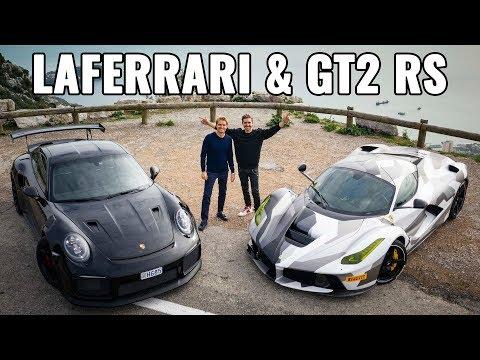 WORLD'S ONLY €3M CAMO LAFERRARI MEETS PORSCHE GT2 RS!! | NICO ROSBERG | eVLOG