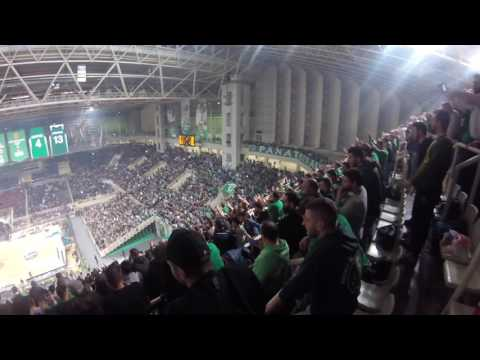 Panathinaikos - Real Madrid 88-82 (LAST TWO MINUTES FROM THE STANDS!) 🔥